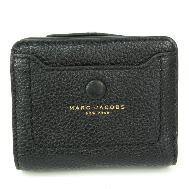 Item - Black Mini Compact M0014215 Women's Leather (Bi-fold) Wallet