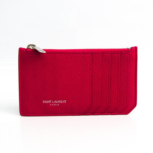 Item - Pink 458583 Women's Leather Coin Purse/Coin Case Wallet