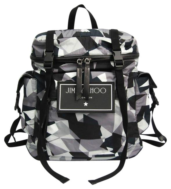 Item - Wixon Cin Anthracite Mix Unisex Black / Gray / Multi-color Leather / Nylon Backpack
