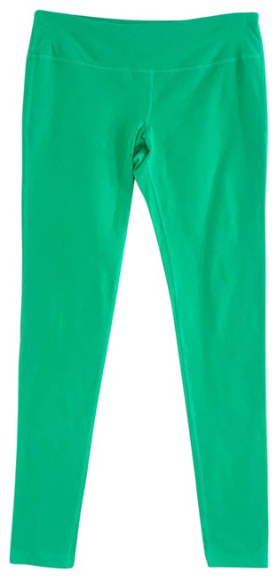 Item - Green Bright Stretch Workout Activewear Bottoms Size 8 (M, 29, 30)