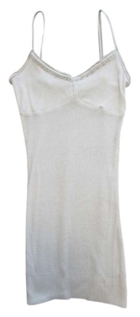 Abercrombie & Fitch & Af Spaghetti Embellishments Top White