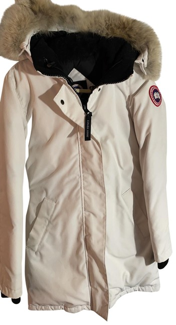 Item - White Victoria Down Parka Coat Size 0 (XS)