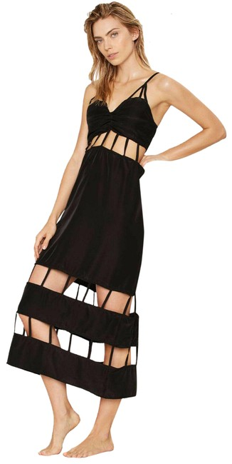 Item - Black Lee + Lani Cage Before Beauty Cutout Dress Cover-up/Sarong Size 2 (XS)