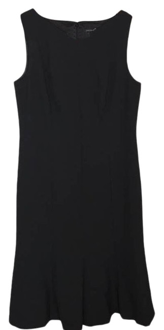 Item - Black Nwot V-neck Sleeveless Sheath Short Work/Office Dress Size 10 (M)