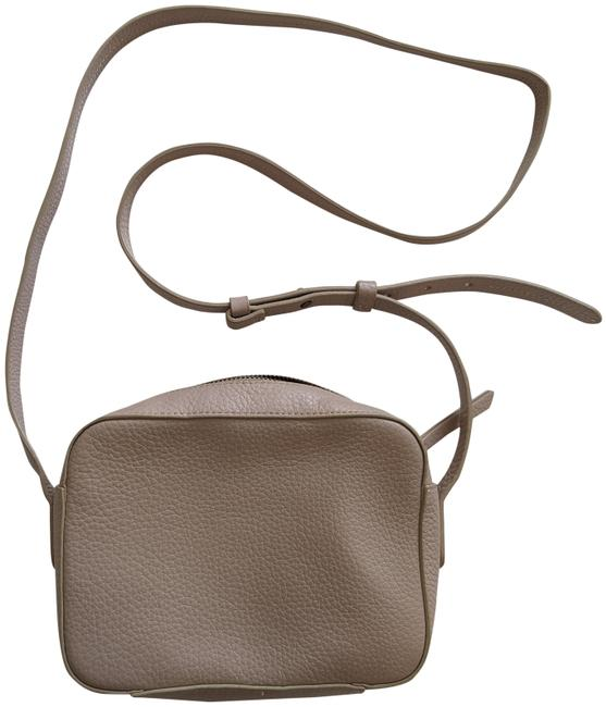 Item - Pebbled Lilac Leather Cross Body Bag