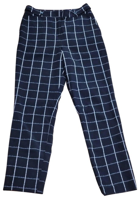 Item - Black Checkered Dress Pants Size 4 (S, 27)
