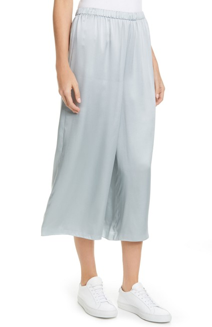 Item - Mist Blue Fluid Pull-on Silk Pants Size 4 (S, 27)