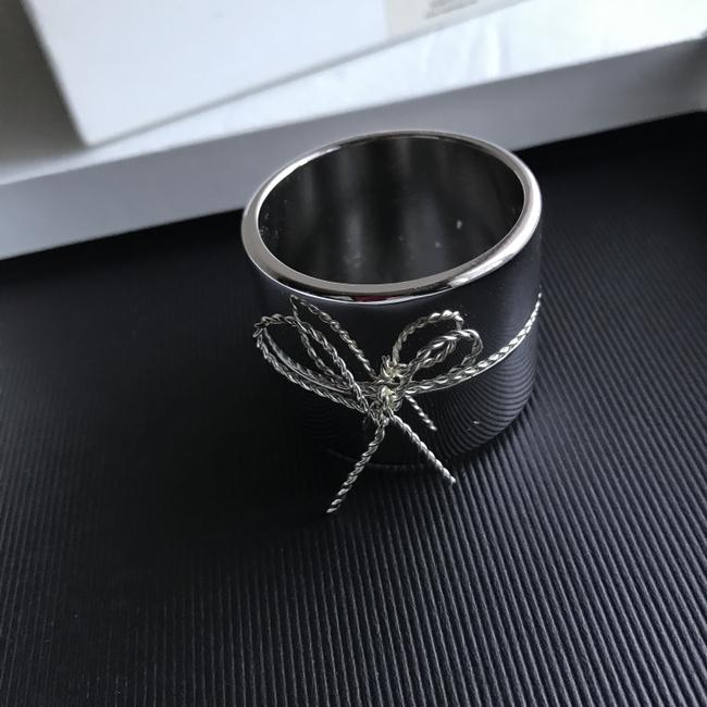 Item - Silver Love Knots Set/ 4 Napkin Rings Other