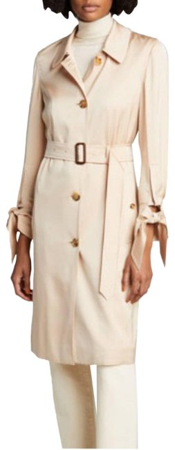 Item - Blush Tie-cuff Silk Coat Size 8 (M)