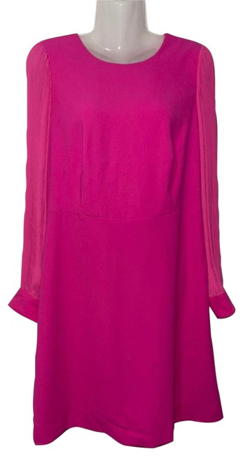 Item - Fuchsia Pink Color Mid-length Cocktail Dress Size 8 (M)