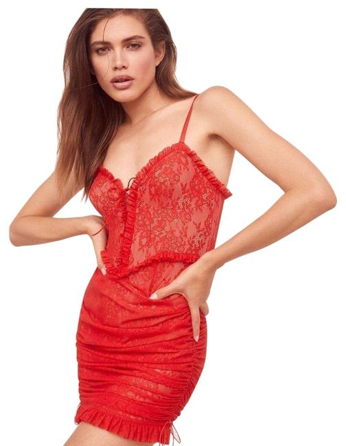 Item - Red Gracie And Body S Short Night Out Dress Size 4 (S)