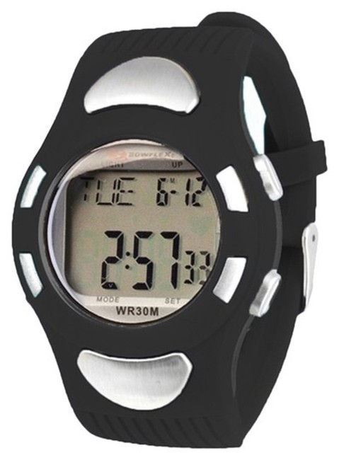 Item - Black Ez Pro Heart Rate Monitor Watch