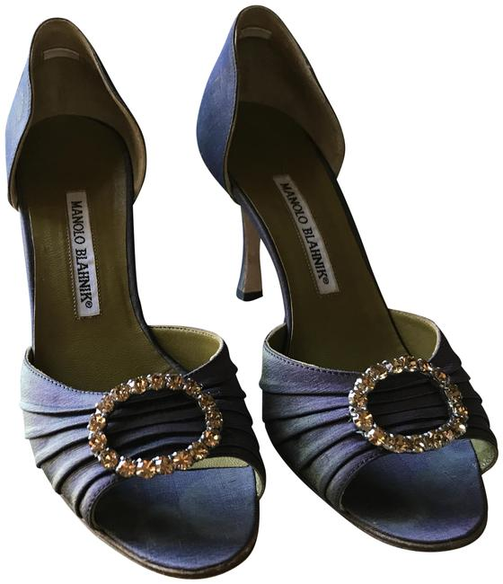 Item - Lavender with Gold Tones Carolyne Bt7oval Napa Alba Formal Shoes Size US 7 Regular (M, B)