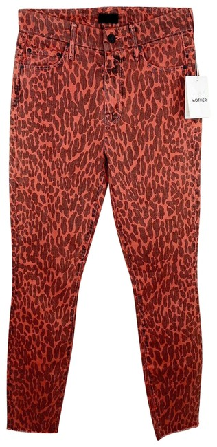 Item - Red Denim The Looker Ankle Fray Skinny Jeans Size 25 (2, XS)