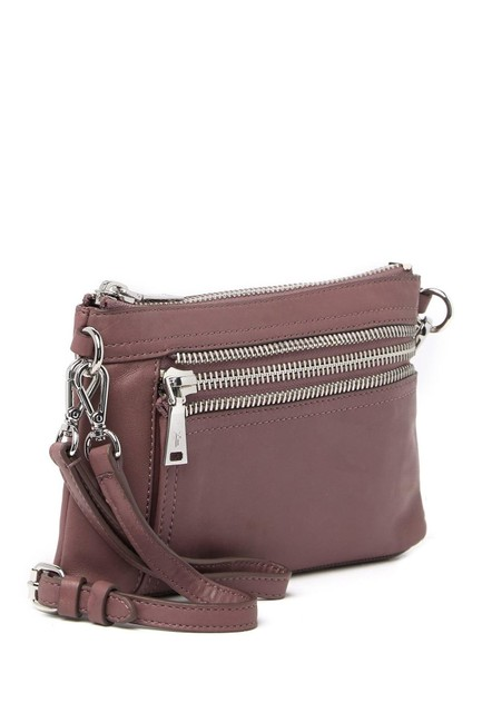 Item - Lexi Lilac Leather Cross Body Bag
