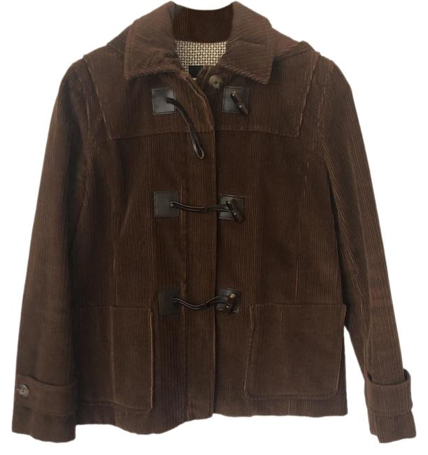 Item - Brown Corduroy Toggle Coat Size 6 (S)