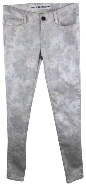 Item - Multicolor Light Wash Printed Skinny Jeans Size 26 (2, XS)