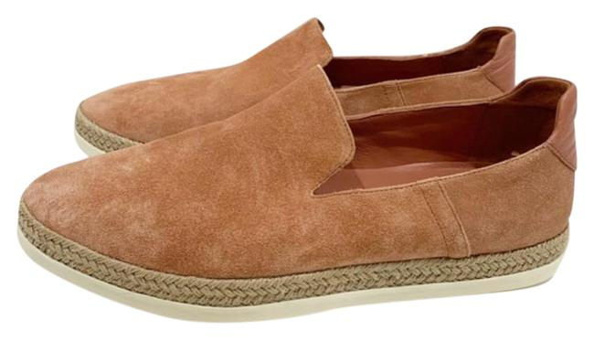Item - Tan Pink Dillon Suede Espadrille Loafers Flats Size US 8.5 Regular (M, B)