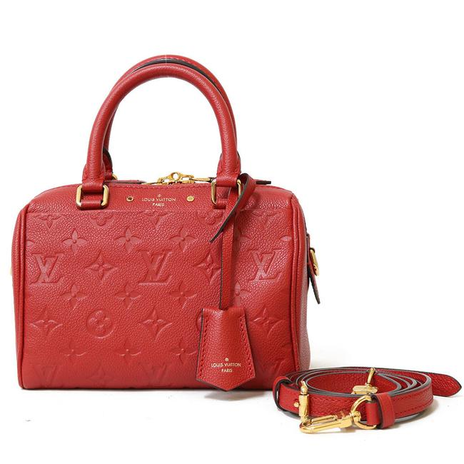 Item - Speedy Amplant M42395 Ladies Cerise / Red Color Monogram Empreinte Satchel
