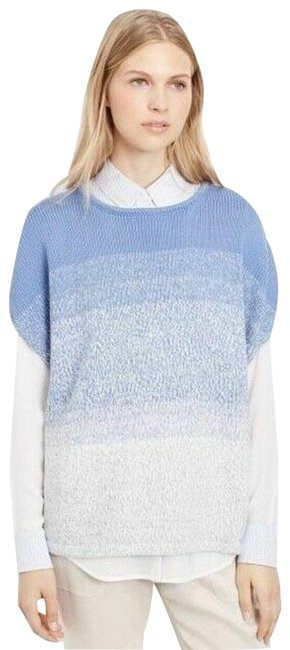 Item - Cocoon Ombre XS Marled Textured Blue Sweater