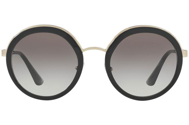 Item - Black Spr 50t 1ab-0a7 54mm Oversize Round Sunglasses