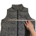 Charter Club Black White Houndstooth Puffer Vest Size Petite 8 (M) Charter Club Black White Houndstooth Puffer Vest Size Petite 8 (M) Image 7