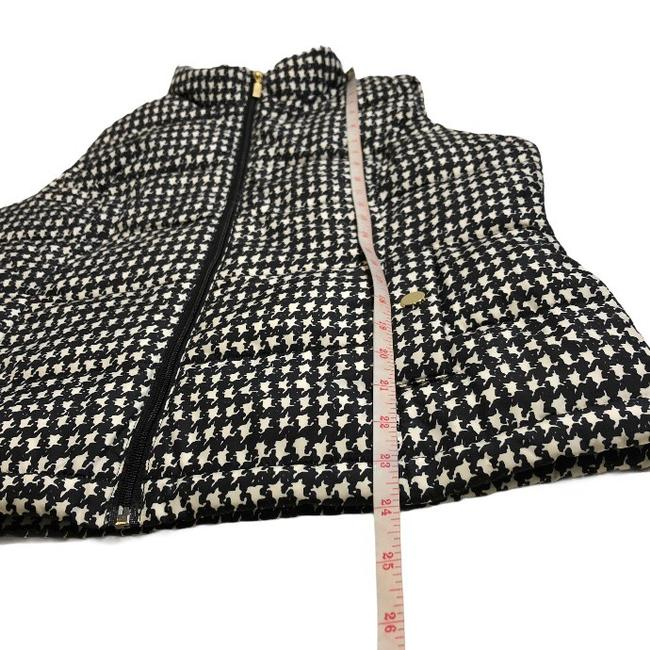 Charter Club Black White Houndstooth Puffer Vest Size Petite 8 (M) Charter Club Black White Houndstooth Puffer Vest Size Petite 8 (M) Image 8