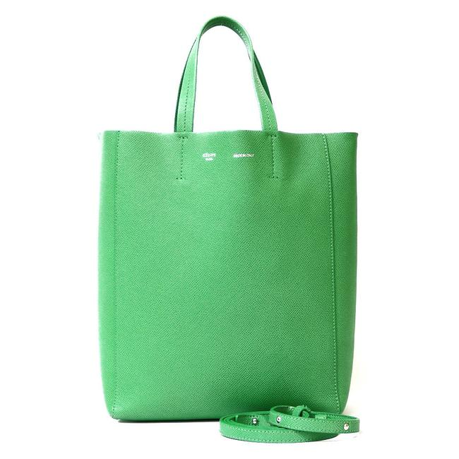 Item - Cover Vertical Small Tote 2way Ladies Green Shoulder Bag