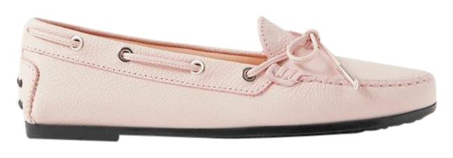 Item - Pink City Gommino Leather Loafers Flats Size EU 37.5 (Approx. US 7.5) Regular (M, B)