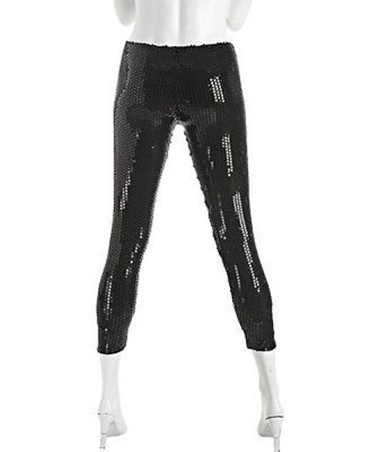Other Plan B Stretched Sequined Black Leggings