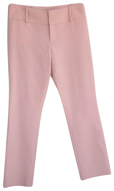 Alice + Olivia Peach Stacey Pants Size 2 (XS, 26) Alice + Olivia Peach Stacey Pants Size 2 (XS, 26) Image 1