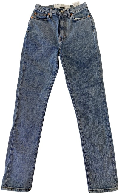 Item - Blue Stone Wash Acid High Rise Skinny Jeans Size 24 (0, XS)