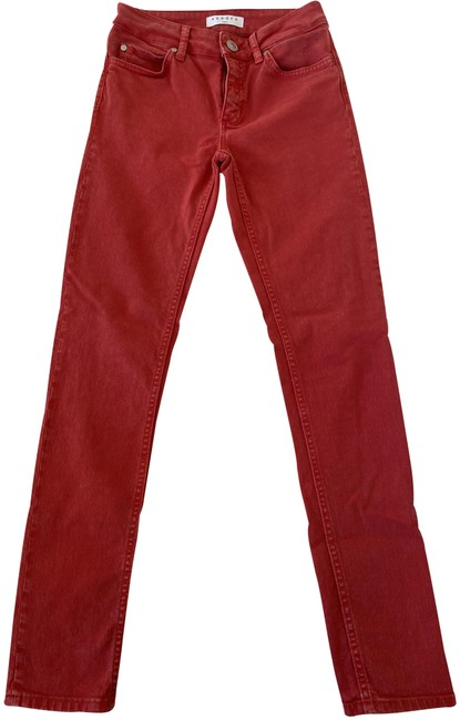 Item - Red Light Wash Skinny Jeans Size 24 (0, XS)