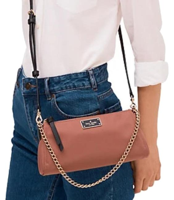 Item - Wilson Road Jane Dusty Pink/Black Nylon Cross Body Bag