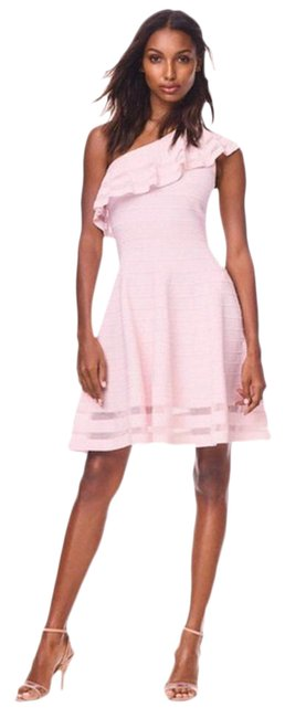 Ted Baker Pink London Streena Knit Skater Mid-length Night Out Dress Size 10 (M) Ted Baker Pink London Streena Knit Skater Mid-length Night Out Dress Size 10 (M) Image 1