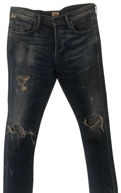 Item - Distressed Corey Relaxed Fit Jeans Size 2 (XS, 26)