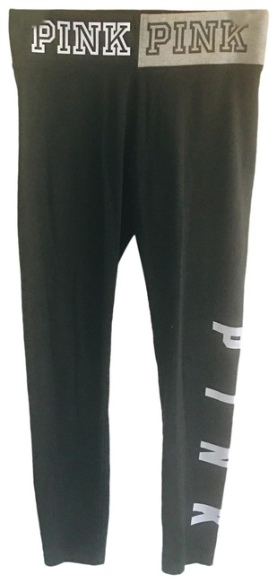 Item - Blk White Pink Limited Edition Nwot Leggings Size 8 (M, 29, 30)