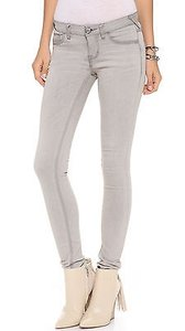 Free People Cloudy Grey Skinny Jeans