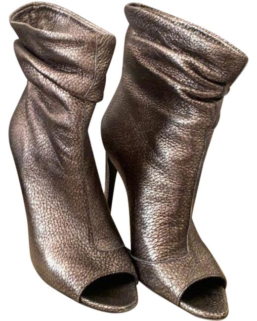 Burberry Pewter Burlison Boots/Booties Size US 8 Regular (M, B) Burberry Pewter Burlison Boots/Booties Size US 8 Regular (M, B) Image 1