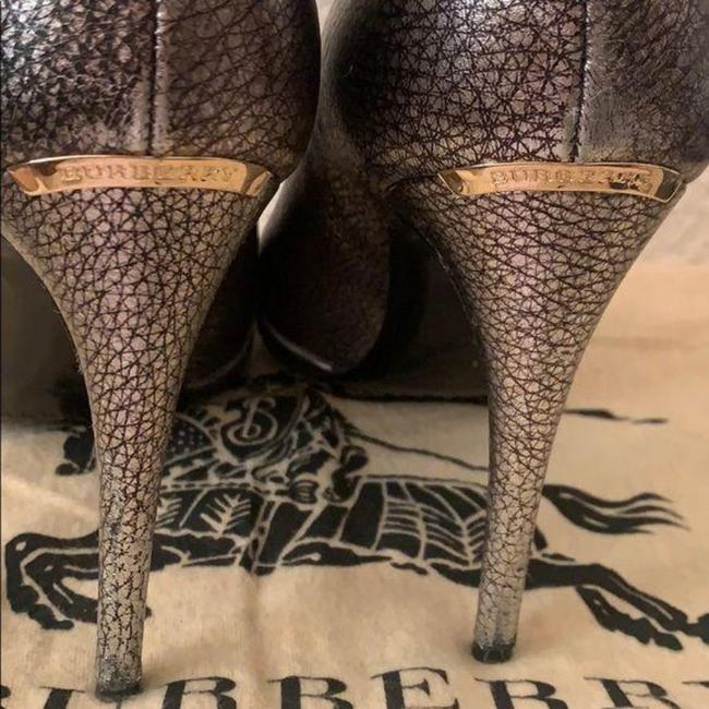 Burberry Pewter Burlison Boots/Booties Size US 8 Regular (M, B) Burberry Pewter Burlison Boots/Booties Size US 8 Regular (M, B) Image 8