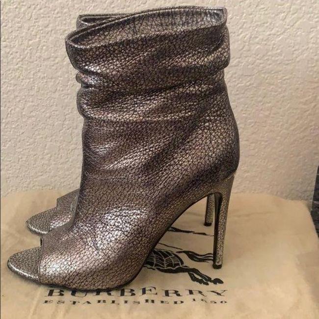 Burberry Pewter Burlison Boots/Booties Size US 8 Regular (M, B) Burberry Pewter Burlison Boots/Booties Size US 8 Regular (M, B) Image 10