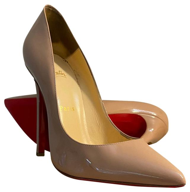Item - Nude Patent Pigalle Pumps Size EU 38 (Approx. US 8) Regular (M, B)
