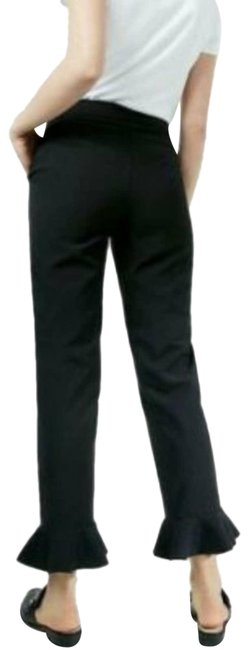 Item - Black High Rise Ankle Bell Flare Pants Size 8 (M, 29, 30)