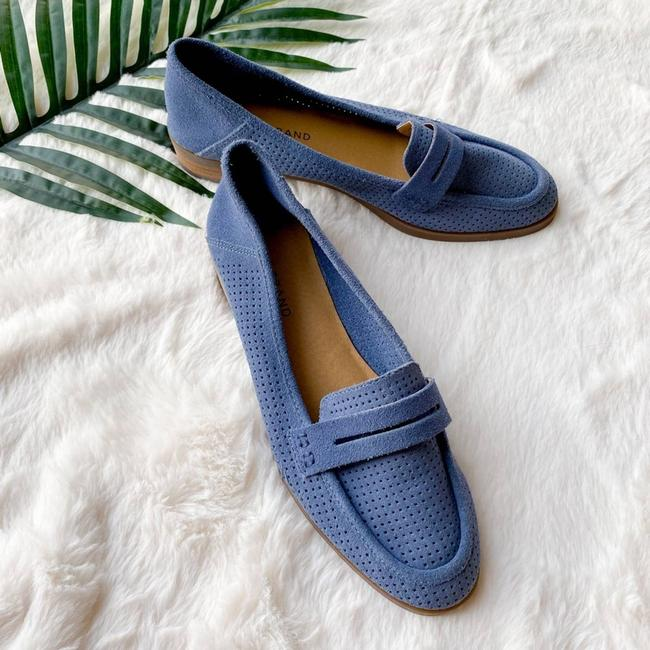 Item - Blue Nwob Caviep Perforated Suede Loafer Flats Size US 7.5 Regular (M, B)