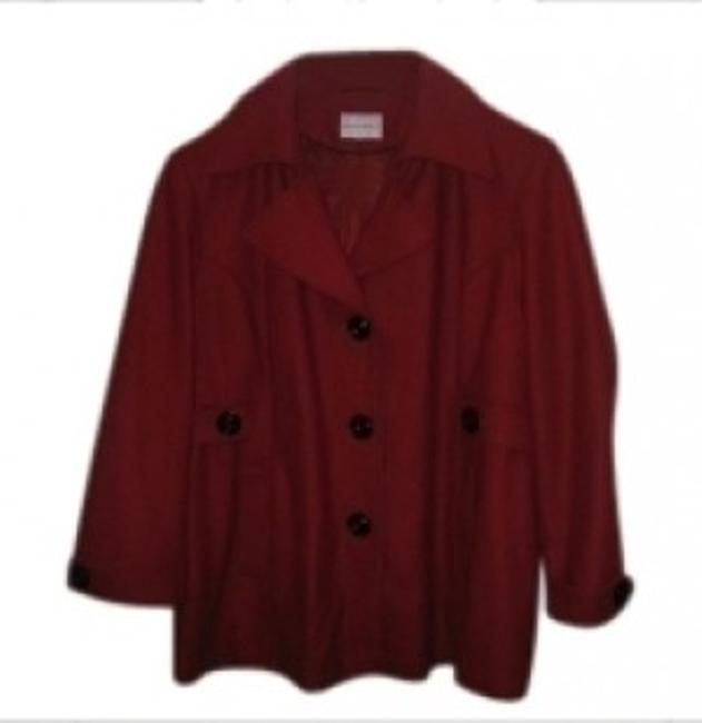 Preload https://item5.tradesy.com/images/fashion-bug-deep-red-pea-coat-size-28-plus-3x-28804-0-0.jpg?width=400&height=650