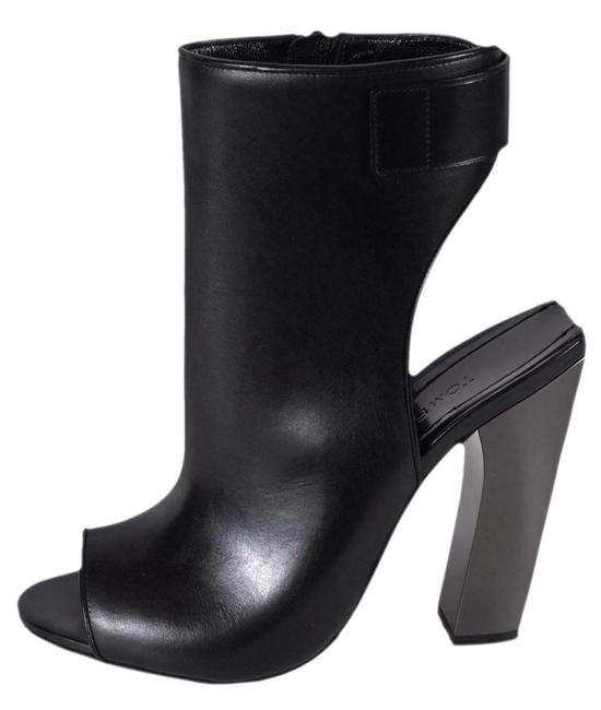 Item - Black New Women's W2078r Leather Zip Up Ankle Boots/Booties Size EU 37.5 (Approx. US 7.5) Regular (M, B)