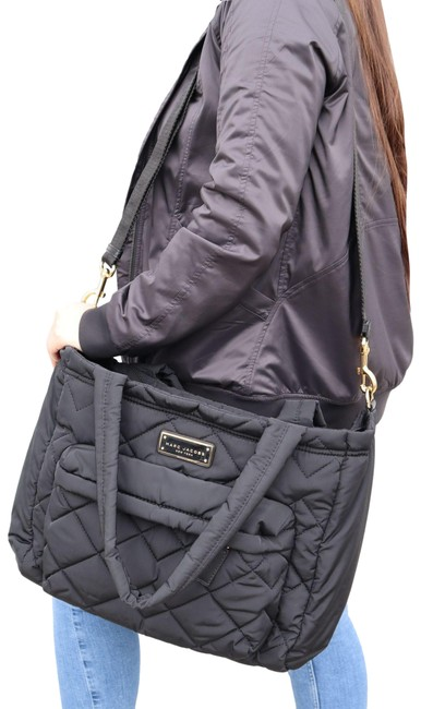 Item - Crosby Quilted Diaper Black Nylon Weekend/Travel Bag