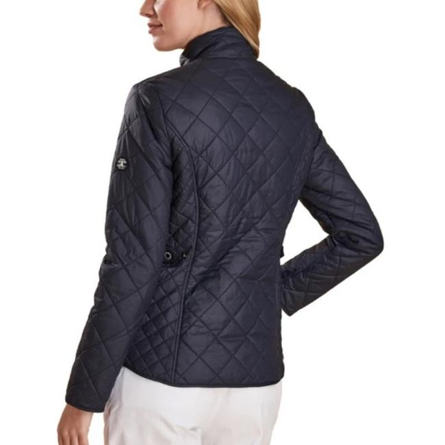 Item - Navy Box Helm Quilted Jacket Size 12 (L)