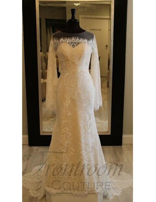 Item - Ivory Favianna Formal Wedding Dress Size 8 (M)