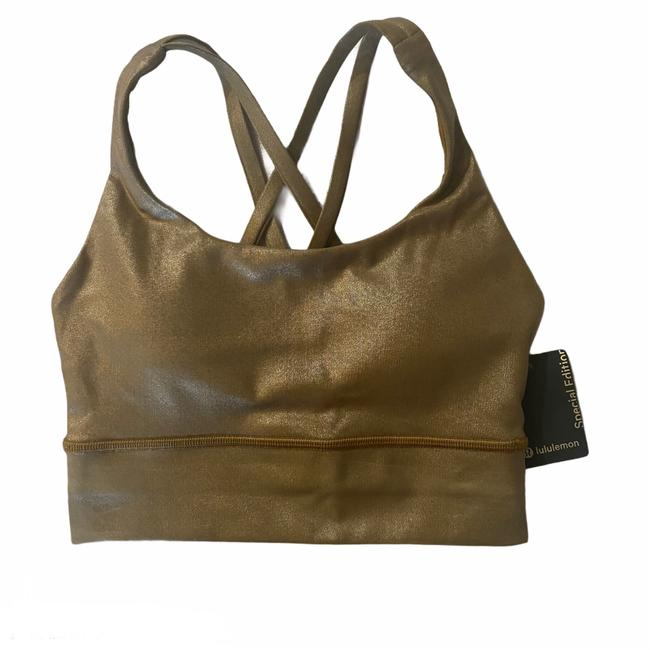 Item - Gold Special Edition Energy Long Line In Activewear Sports Bra Size 2 (XS, 26)